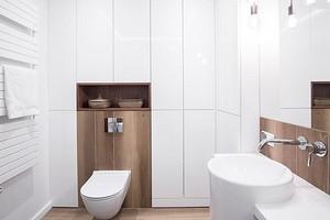 6 красивых и доступных идей для оформления дверок сантехнического шкафа