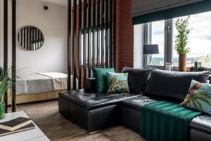 13 топовых приемов дизайнеров по оформлению гостиной-спальни (когда приходится совмещать)