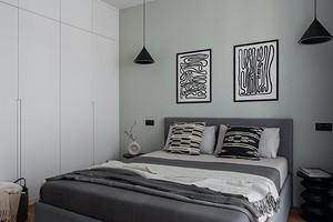 Встраиваемый шкаф в спальне (50 фото)