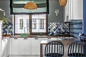 Планировка кухни в частном доме: от расположения до выбора гарнитура