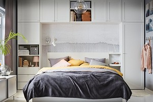 7 красивых и удобных идей для хранения текстиля в спальне