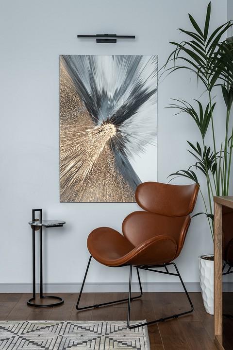Абстрактная живопись на стене &...