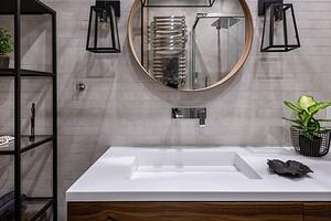 6 лучших материалов для столешницы под раковину в ванную комнату (практично и красиво)