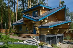 Как в сказке: домик-дача из дерева в Среднеуральске