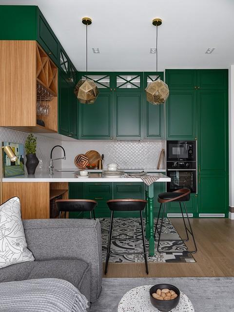 Кухня и гостиная изначально бы&...