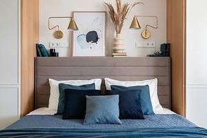 8 потрясающих идей для оформления стены над кроватью в спальне