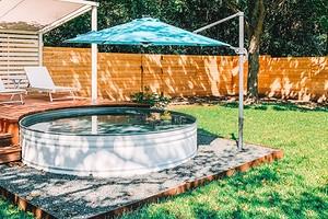 6 красивых участков с мини-бассейном (вы вдохновитесь)