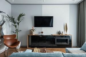 Выбираем тумбу под телевизор: какие бывают и с чем сочетать в интерьере (50 фото)