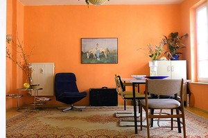Оранжевый цвет в интерьере: как применять и с чем сочетать (51 фото)