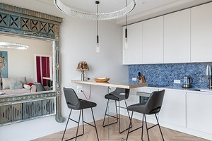 Квартира дизайнера: небольшая евродвушка в светлых тонах