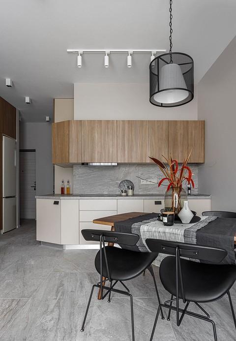 «Кухня словно интегрирована в &...