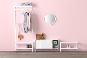 8 предметов из ИКЕА, которые помогут заменить шкаф в прихожей
