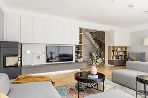 5 интерьеров с мебельной стенкой, которые выглядят стильно (оказывается, это реально!)