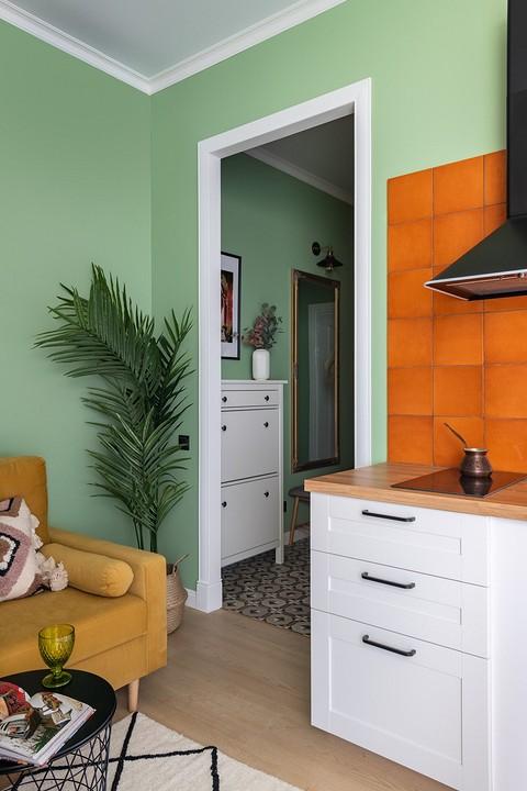 Оранжевый оттенок глянцевой п&#...