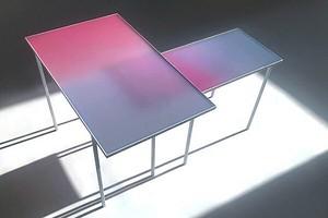 «Сенсорный стол»: дизайнер создала мебель, которая реагирует на прикосновения