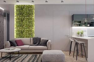 Озеленение для ленивых — мох на стену (60 фото)