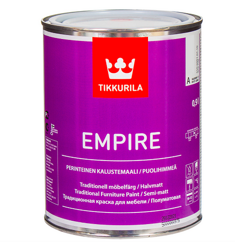 Эмаль Tikkurila цвет белый, 0,9 л