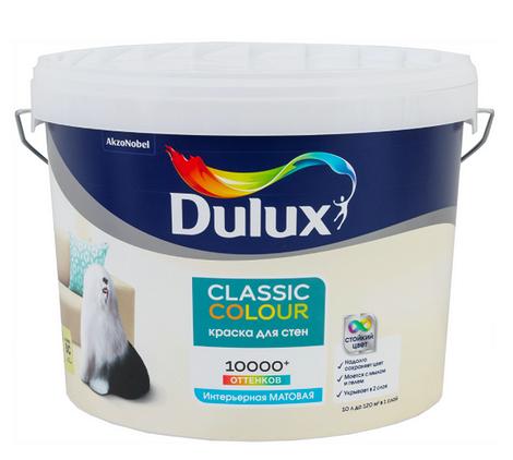 Краска для колеровки латексная Dulux Classic Colour прозрачная база BС, 9л
