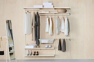 5 мест в квартире, где можно использовать гардеробную систему «Боаксель» ИКЕА (это практично!)