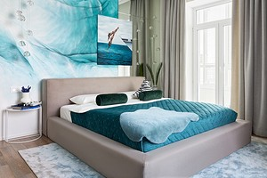 Просторная и яркая: квартира в Санкт-Петербурге для молодой семейной пары