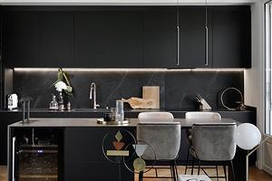 8 идеальных решений по декорированию черной кухни (чтобы было нескучно)