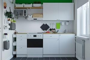 7 крутых идей от ИКЕА для маленькой кухни в хрущевке