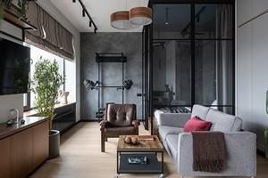 До и после: как дизайнеры превратили бетонные стены в стильный и функциональный интерьер
