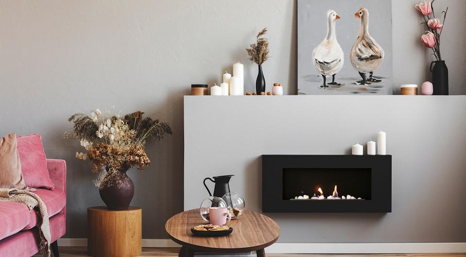 6 причин поставить электрический камин в доме