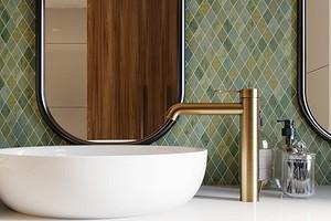 Вместо «кабанчика»: 8 ванных комнат с красивой плиткой