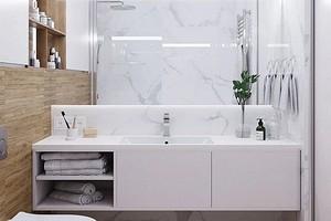 Как оформить нескучный интерьер белой ванной комнаты: советы и 77 фото