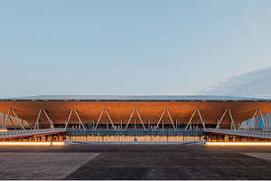 Спортивная арена с самой большой деревянной крышей: как выглядит один из объектов ОИ в Токио