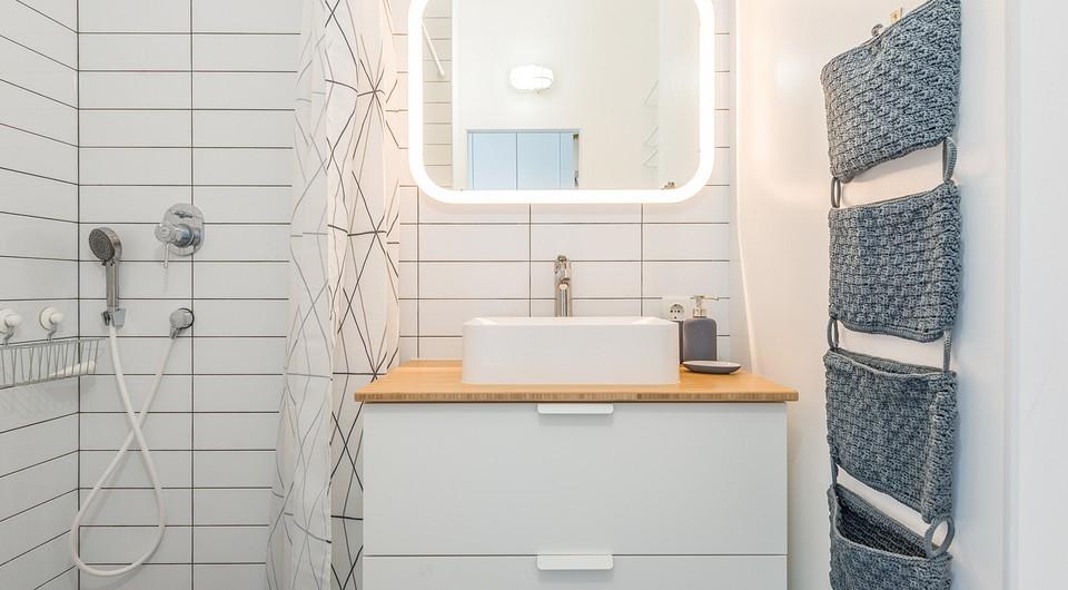 7 ванных комнат со стильной шторкой для душа (это возможно!)