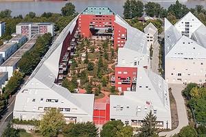 Во Франции построили жилой комплекс со «срезанными» крышами