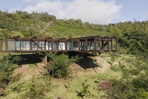 Стальной дом за семь дней: архитекторы построили поразительное здание в Парагвае