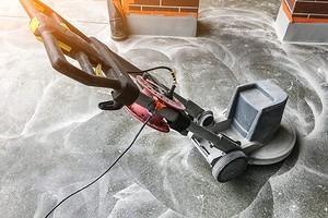 Шлифовка бетонного пола: подробная инструкция, которая поможет провести работы самому