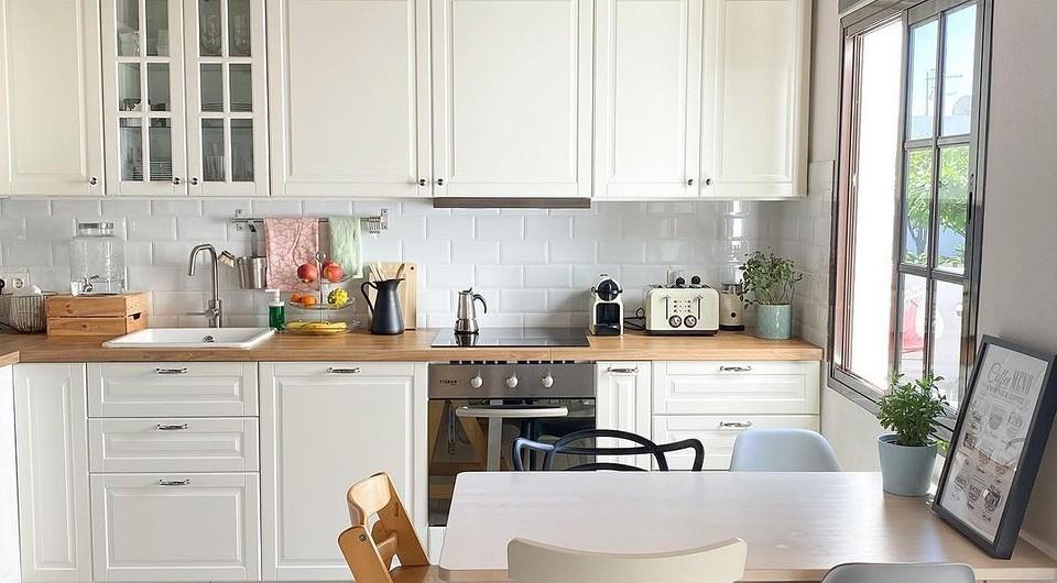 5 классных европейских кухонь с мебелью ИКЕА (а как у них?)