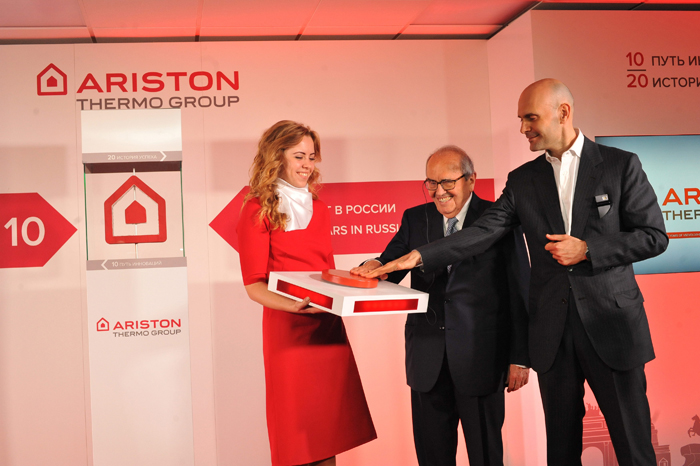 Ariston Thermo Group  - 20 лет роста