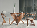 оригинальная мебель гнутого дерева
