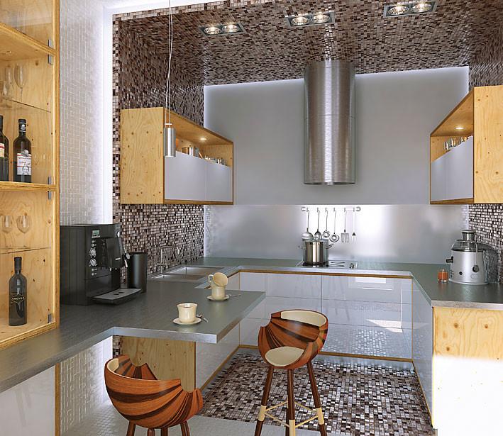 Четыре дизайн-проекта квартир в панельном доме серии Д-25