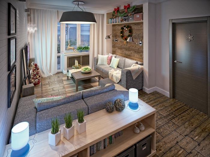 Три дизайн-проекта квартир