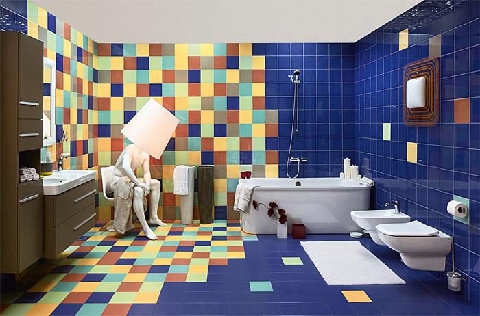 3 проекта ванных комнат в разных стилях