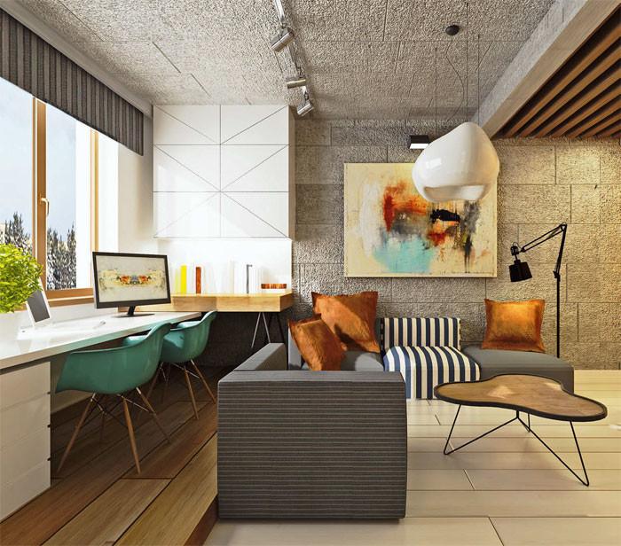 6 дизайн-проектов квартир