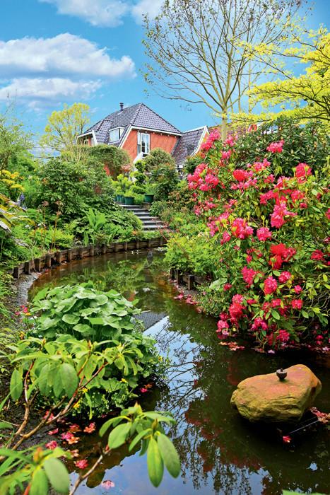 Частный сад в Подмосковье