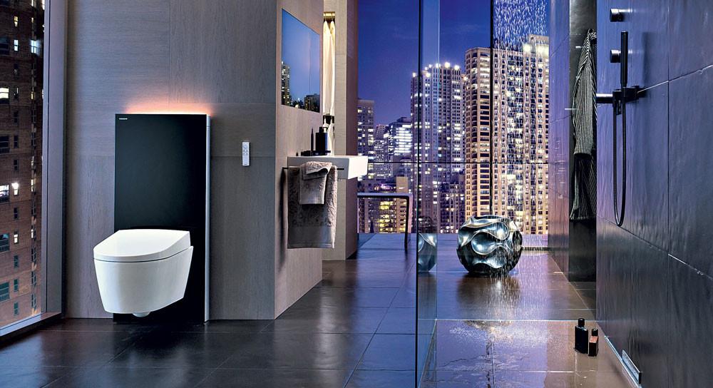 Высокотехнологичные новинки для ванной комнаты
