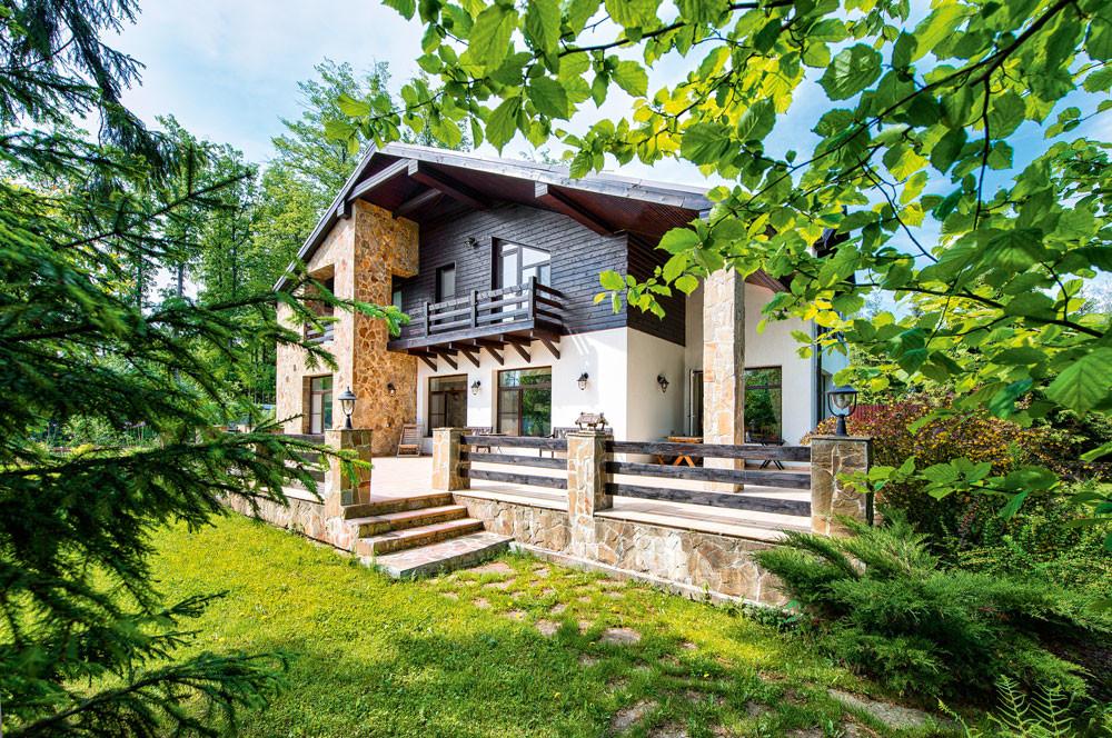 Загородный дом для сезонного проживания