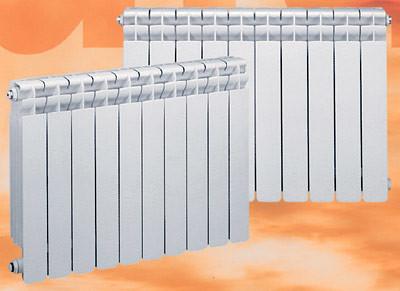 Алюминиевые секционные радиаторы Kaldo