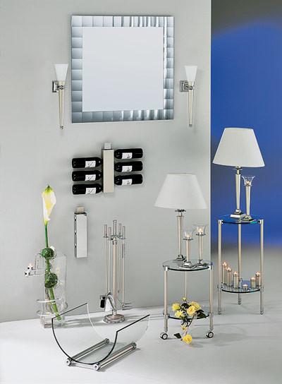 Декор в стекле и металле