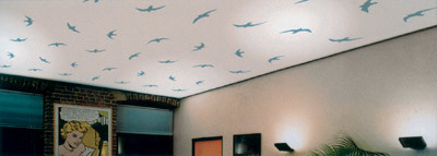 Расписные натяжные потолки