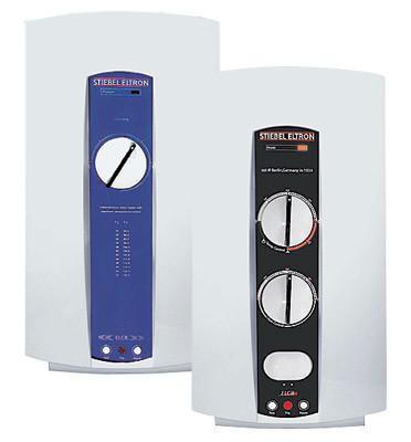 Малые безнапорные проточные водонагреватели