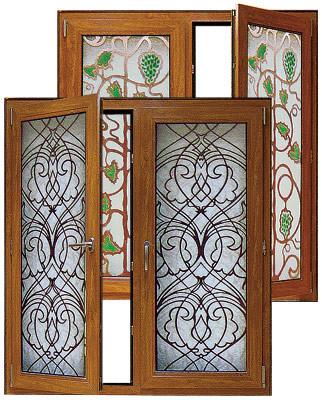 Декорирование окна по технологии Art Vision